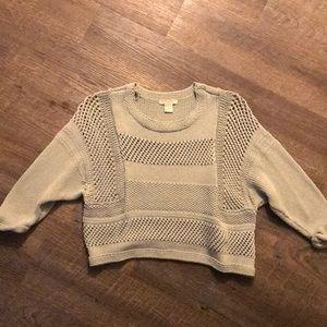 H&M Seafoam knit sweater
